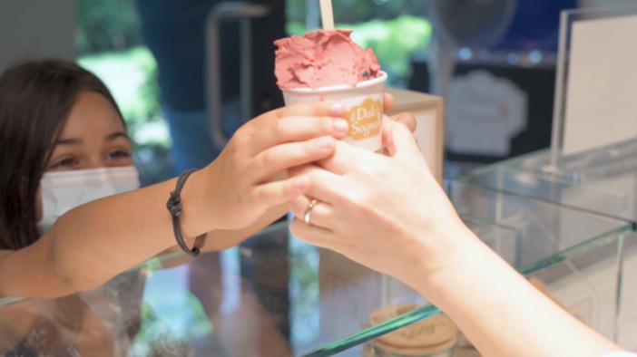 """Vinci un chilo dell'unico gelato premiato con i prestigiosi """"3 coni"""" Gambero Rosso in provincia"""