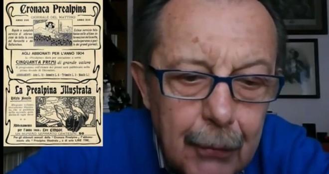 VIDEO. Il professor Ghiringhelli racconta... la storia per strada da via Bagaini a via Rainoldi