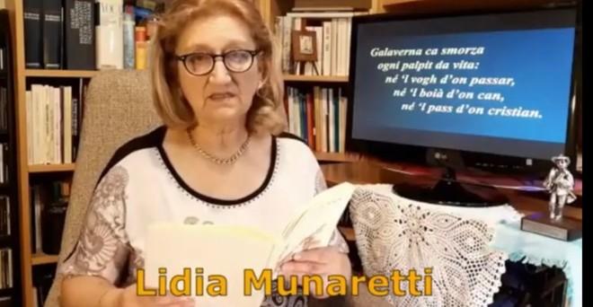 "Lidia Munaretti recita ""Gel"" di Antonio Carlo Montonati"