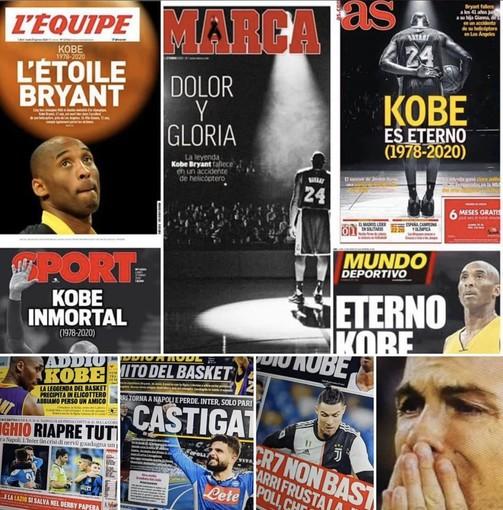 Federica Pellegrini e Marco Belinelli contro i giornali sportivi italiani: «Tutto il mondo omaggia Kobe Bryant tranne noi»