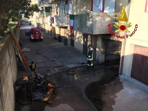 Cairate e Solaro: doppio intervento dei vigili del fuoco di Tradate per due incendi