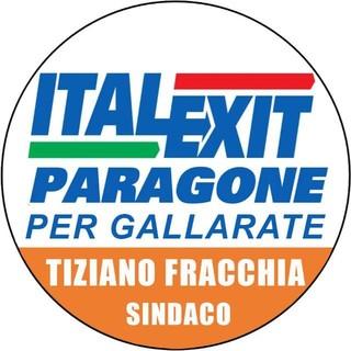 Tiziano Fracchia candidato sindaco a Gallarate con Italexit