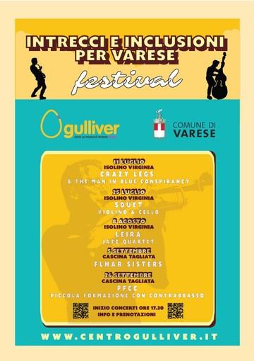 """Prosegue la rassegna """"Intrecci e inclusioni per Varese"""": domenica 25 concerto di violino e violoncello"""