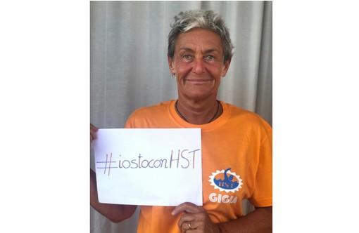 Silvia Cattaneo, presidentessa dell'associazione Happy Sport Team che gestisce l'area piscine del palaghiaccio lancia una campagna pubblica di sensibilizzazione