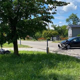 Le immagini dell'incidente