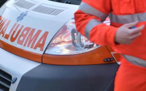 Ponte Tresa, scontro tra un'auto e una moto lungo la Provinciale 61: un ferito