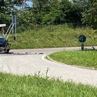 Schianto in viale Borri: resta in Rianimazione il motociclista ferito