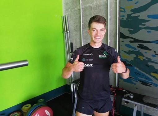 La squadra olimpica irlandese ospite della Canottieri Varese e del nostro lago