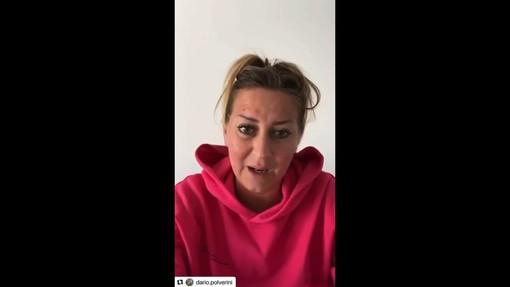 Jessica Polverini, sorella di Dario, lancia un appello a Draghi