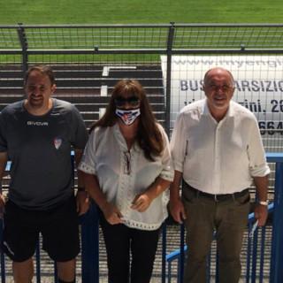 Da sinistra Ivan Javorcic, Patrizia Testa e Sandro Turotti lo scorso anno