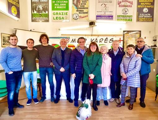 La Lega di Varese dà simbolicamente il via alla campagna elettorale con Attilio Fontana