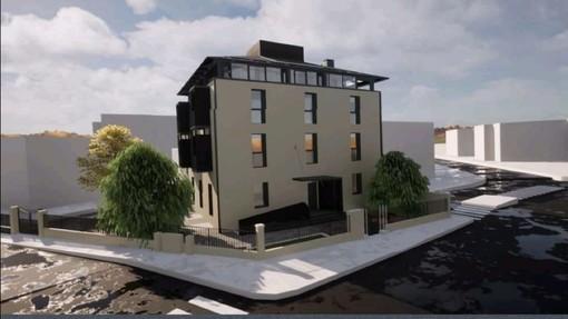 Da edificio degradato a palazzo della speranza, la Fondazione Ascoli riqualifica l'immobile di Largo Flaiano
