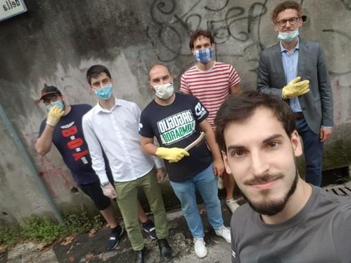 La Lega Giovani del Varesotto lancia la campagna contro il degrado urbano di Varese