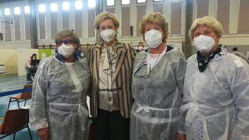 Letizia Moratti: «Vicini al 70% dei lombardi vaccinati e all'immunità di comunità»