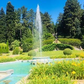 I nuovi giochi d'acqua a Villa Toeplitz abbracciano l'estate varesina