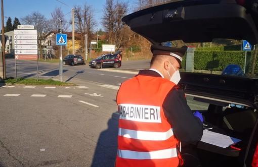 Norme anti Coronavirus, controlli sulle strade del Luinese: i carabinieri denunciano otto persone