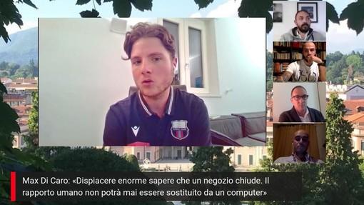 Max Di Caro: «Ragazzi a casa e non in campo? Perdono contatto con la realtà. Ho il Covid ma strutture sportive, palestre, ristoranti e aziende sono luoghi sicuri» (VIDEO)