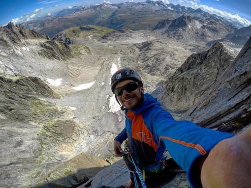 Alpinista varesino morto in Val d'Aosta: «Ciao Matteo, ora scala le vette del Paradiso»