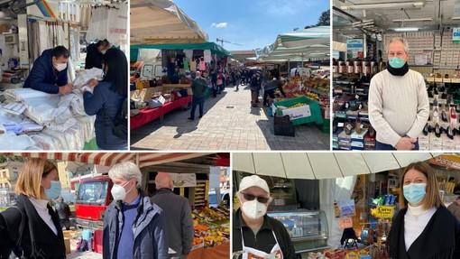 VIDEO. Tende Avigni, alimentari Maganza, calzature Calzavara: quelle bancarelle uscite dal tempo al mercato di piazza Repubblica