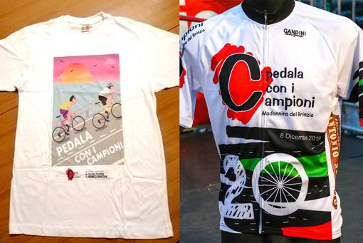 """Coronavirus, """"Pedala con i campioni"""" per aiutare con una donazione i medici varesini dello sport: volata e maglia benefiche"""