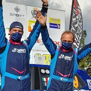 Mauro Miele (a destra) e Luca Beltrame sul gradino più alto del podio