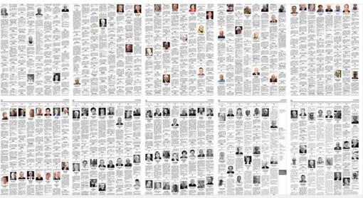 «Worse than a war» (Peggio di una guerra): sul Washington Post le undici pagine di necrologi di Bergamo. «Quelle vite che tratteniamo nella memoria»
