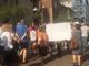 Le immagini della protesta e del corteo
