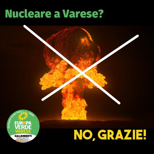I Verdi rispondono a Salvini: «Centrale nucleare in provincia di Varese? Noi diciamo né ora né mai»