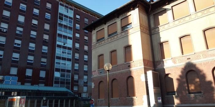 I padiglioni Polichirurgico e della Formazione dell'ospedale di Busto