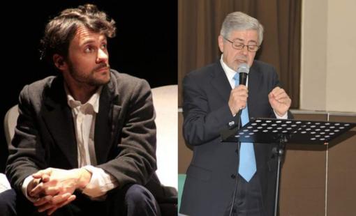 """Nicola Tosi e Walter Longobardi, narratori dei racconti del progetto """"La spiaggia nera"""""""
