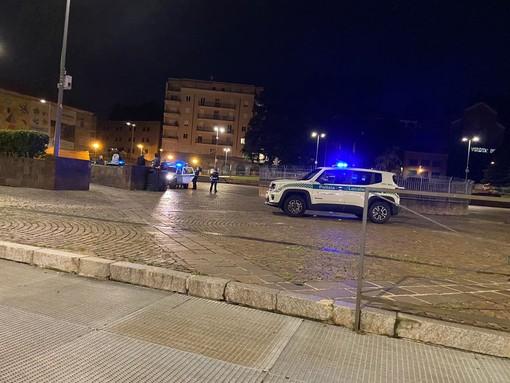 Piazza Repubblica sorvegliata speciale dalle polizie locali di Varese, Busto Arsizio, Gallarate e Saronno