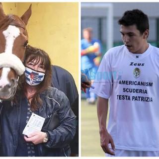 Calcio, Alassio FC. Quando il main sponsor è... un cavallo