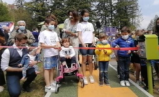 FOTO e VIDEO: Varese città inclusiva, inaugurato il Parco Gioia a Villa Mylius