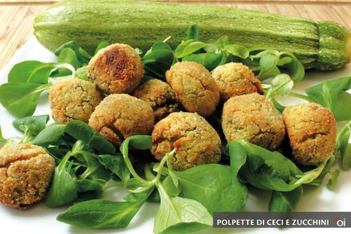 I mercoledìVeg di Ortofruit: oggi prepariamo le polpette di ceci e zucchini