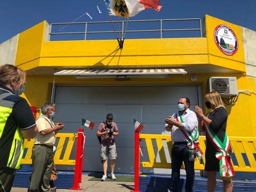 FOTO E VIDEO. A Morosolo la nuova casa della Protezione Civile Valtinella. «Questo è il nostro grazie per i volontari»