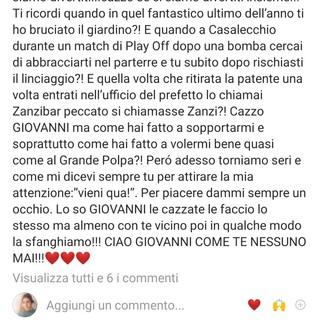 Pierantozzi, la commozione di Pozzecco: «Come te nessuno mai… Dammi un occhio da lassù…»