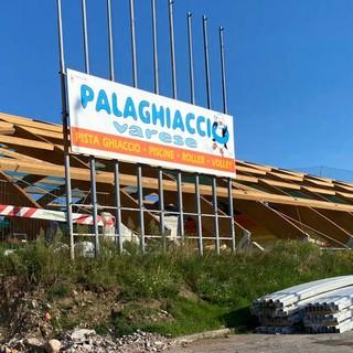 Il palaghiaccio di via Albani ristrutturato dovrebbe essere pronto a metà 2022