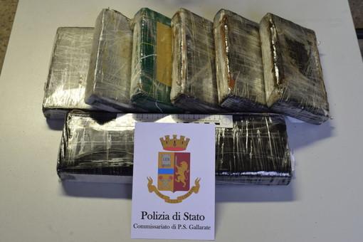 Nove chili di cocaina nel camion, in manette albanese di 27 anni