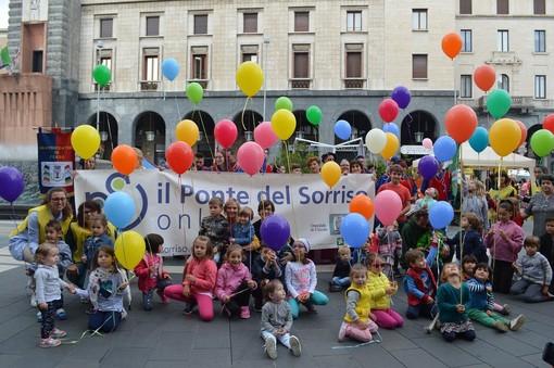 """Svago, gioco e divertimento per famiglie e bambini con """"Un Sorriso per il Ponte"""""""