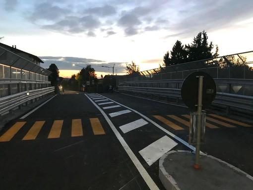FOTO E VIDEO. Ore 19:00 dopo 10 mesi, riapre il ponte di via Giordani