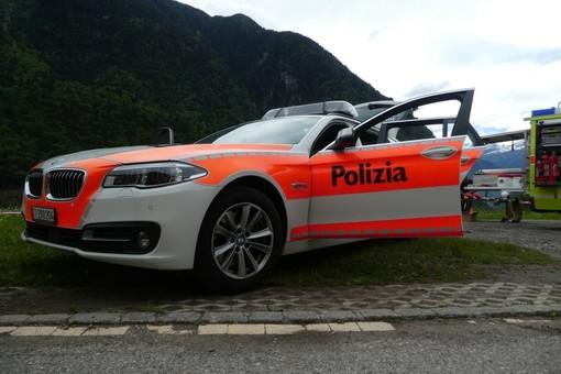 (foto tratta dalla pagina Facebook della polizia cantonale ticinese)