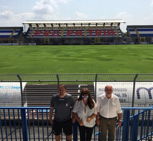 Da sinistra Ivan Javorcic, Patrizia Testa e Sandro Turotti
