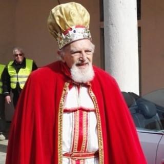 Pietro Tenconi, il Re Risotto (foto dalla pagina Facebook della Pro Loco)