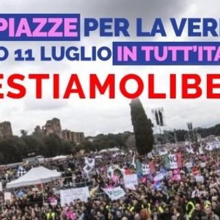 """""""Sentinelle in Piedi"""" in piazza contro la legge sull'omotransfobia"""