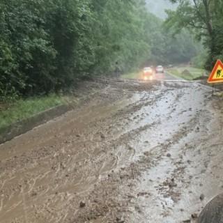Allarme maltempo, il Comune chiude nuovamente la provinciale tra Rasa e Brinzio