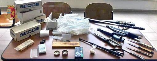 Gallarate, armi e droga in auto: in manette due pregiudicati
