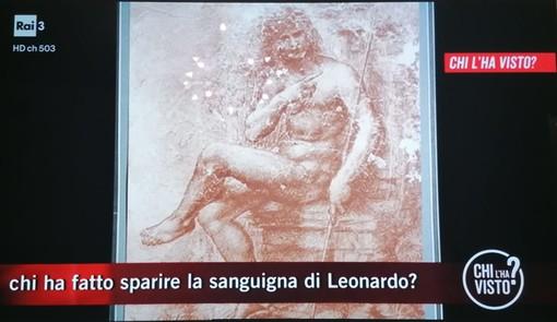 """A """"Chi l'ha visto?"""" si cerca la sanguigna di Leonardo da Vinci trafugata 47 anni fa dal Museo Baroffio"""