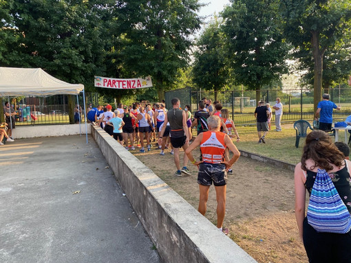 La partenza e la presentazione della corsa