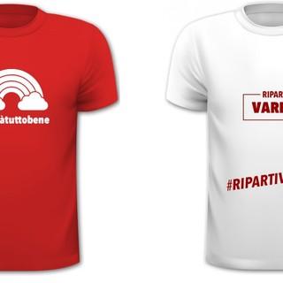 """""""Riparti Varese"""". Ecco le magliette per dire insieme «Covid? No, grazie»"""