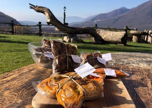 """L'agriturismo """"sottovuoto"""". Il Balcone sulla Valle di Bedero porta in tavola i prodotti locali"""